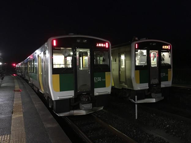 キハE130系 久留里駅