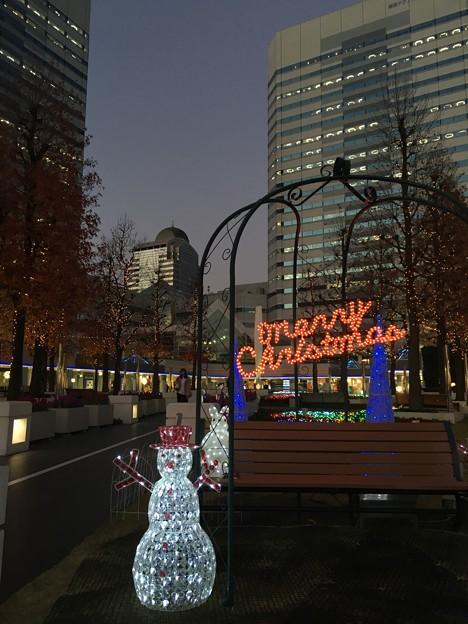 クリスマスイルミネーション 幕張テクノガーデン