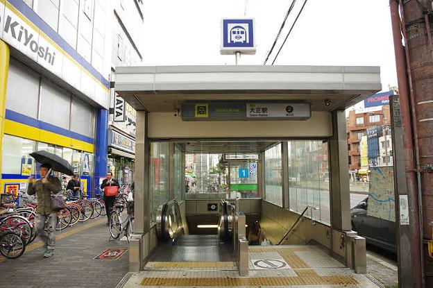 s9722_大正駅2番地下入口_大阪府...