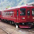 Photos: s0421_長良川鉄道ながら301号と302号_郡上八幡