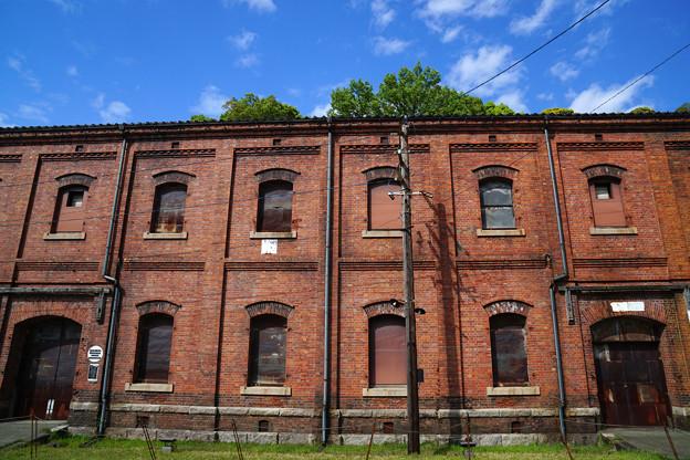 赤煉瓦の倉庫群