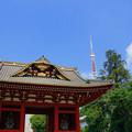 Photos: 朱塗りの門