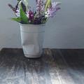 写真: 野の花摘み