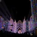 写真: 神戸ルミナリエフロントーネ光のエントランス