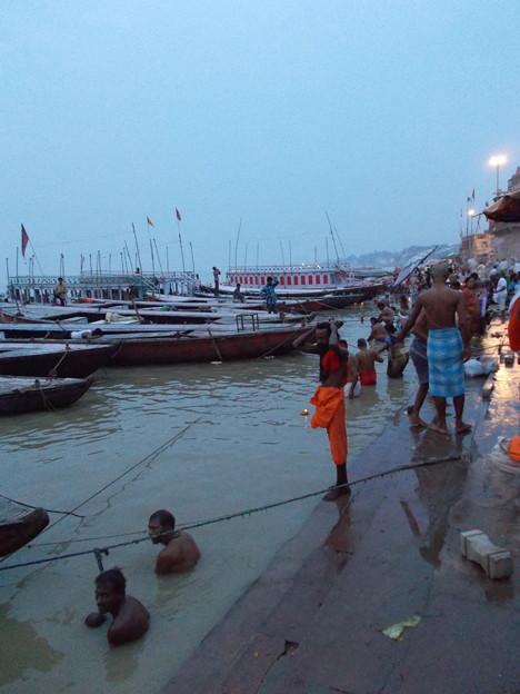 インド旅行 (16) ガンジス川