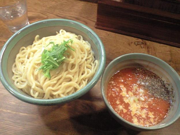 035-4「麺処三鈷峰」トマトつけめん