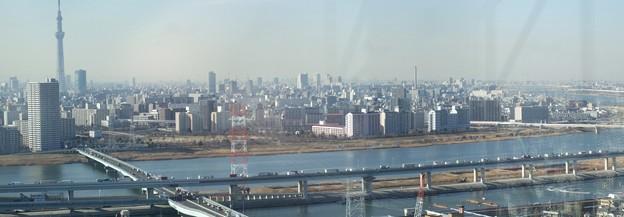 タワーホール船堀展望台からの眺め