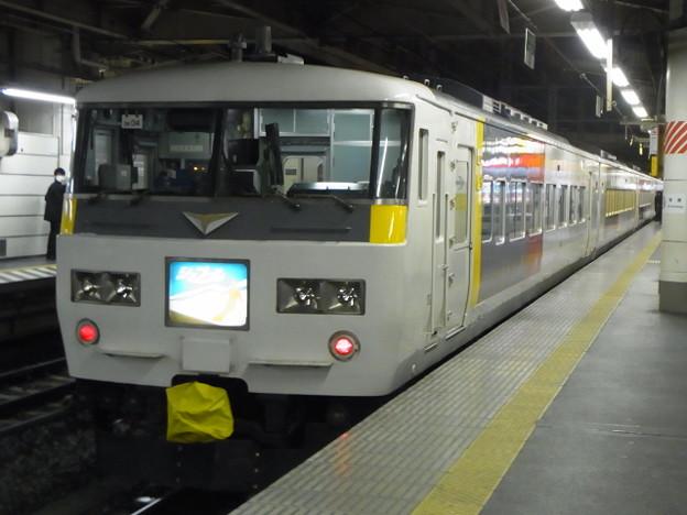 高崎線 185系 シェプール表記