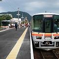 Photos: 播磨新宮駅で乗り換え