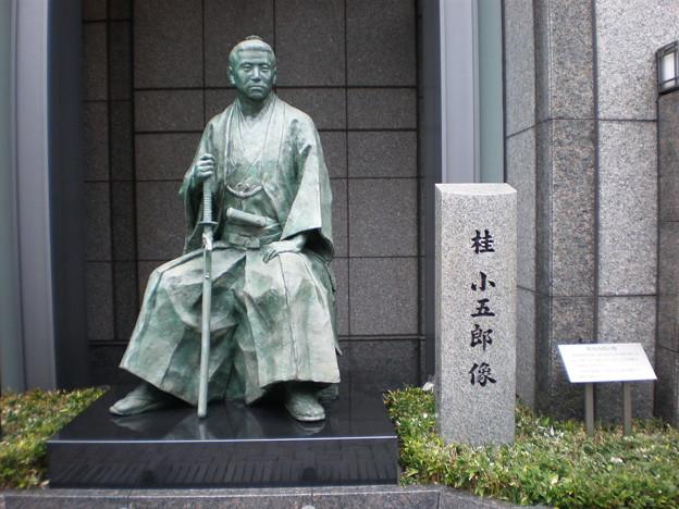 桂小五郎像