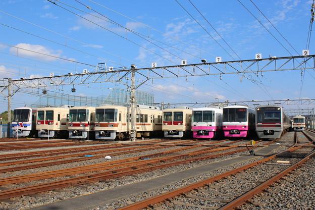 新京成 電車基地見学・展示会