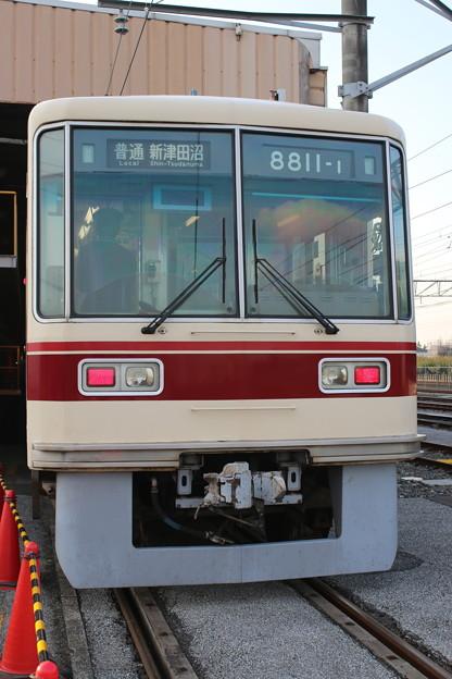 新京成8800形 8811F 普通新津田沼表示