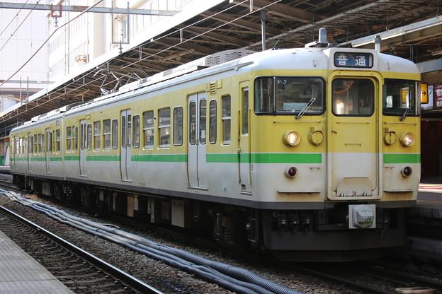 弥彦・越後線115系 Y-3編成