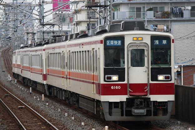 東武本線6050系 6160F