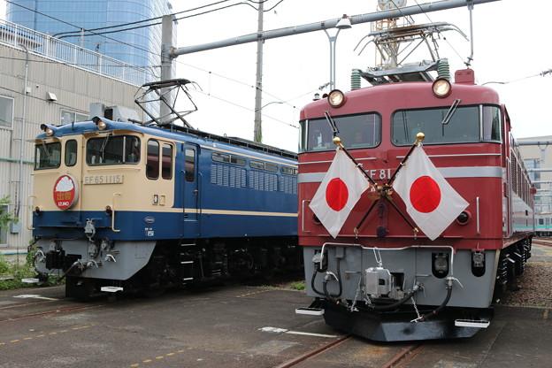 EF65 1115・EF81 81