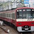写真: 京急600形 604F