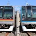 東葉高速鉄道2000系 2101F(通勤快速 妙典)・東西線15000系 15111F(東葉快速 大手町)