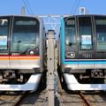 東葉高速鉄道2000系 2101F(臨時)・東西線15000系 15111F(回送)