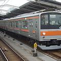 写真: 武蔵野線205系5000番台 E6編成(現在はM3編成)
