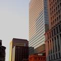 Photos: 夕陽のビル