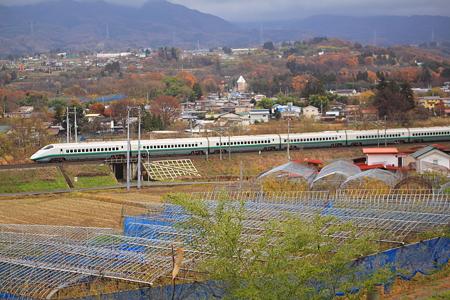 山形新幹線 黒沢温泉付近