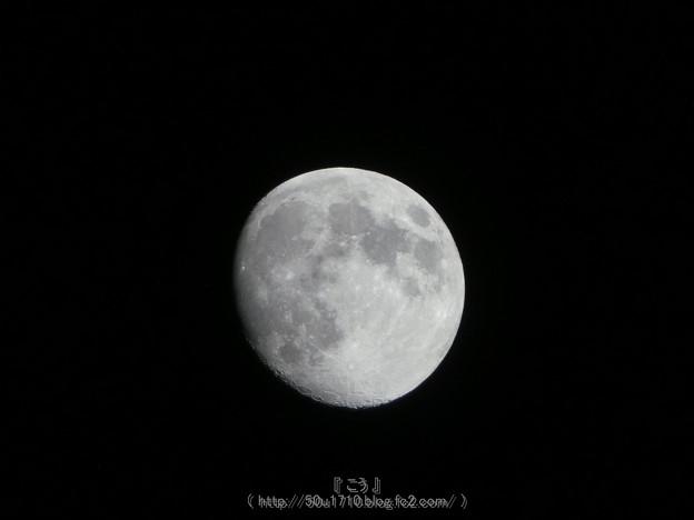 写真: 170706-お月さん (1)