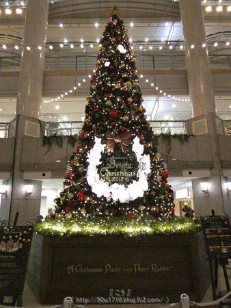 171129-ランドマークタワー クリスマスツリー (8)