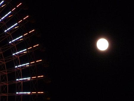 091103-観覧車と月 (38)