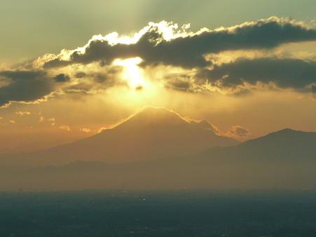 100310-富士山と夕陽 (27)