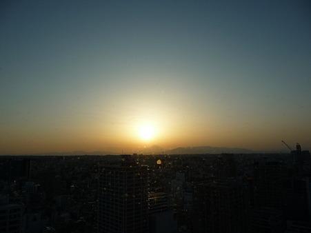 100311-富士山と夕陽 (4)