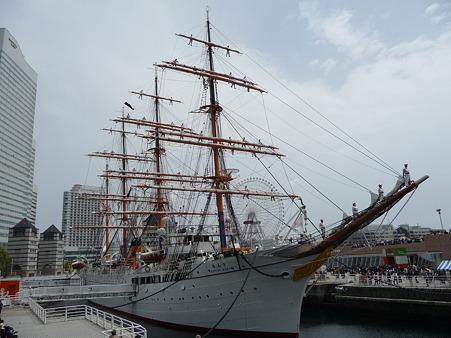 100429-日本丸 総帆展帆-29