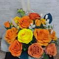 写真: クレイバラ98作目オレンジ