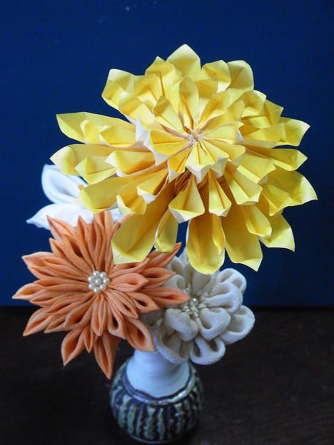折り紙 菊の花