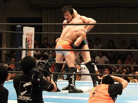 新日本プロレス BEST OF THE SUPER Jr.XIX 決勝戦 田口隆祐vsロウ・キー (5)