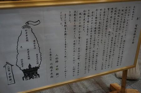 13 2014年 博多祇園山笠 飾り山笠 知略軍師官兵衛 川端中央街 (2)