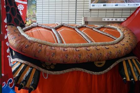 2017年 ユネスコ無形文化遺産 福岡市役所 八代妙見祭 亀蛇 笠鉾 (9)