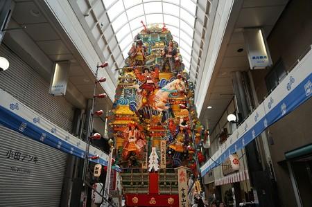 博多祇園山笠 2017年 飾り山 川端中央街 おんな城主直虎 (2)