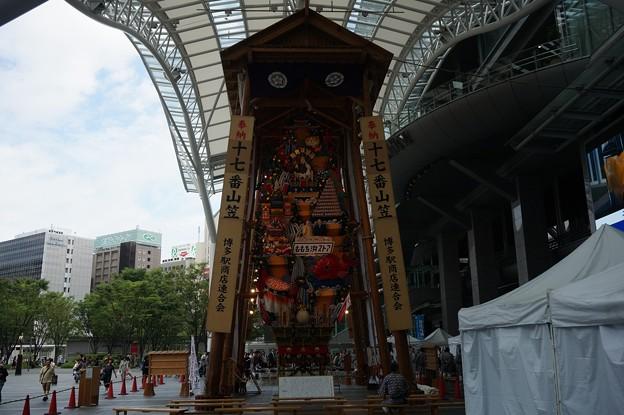 博多祇園山笠 2017年 博多駅商店連合会 飾り山 祝 九州五祭文化遺産登録 (5)