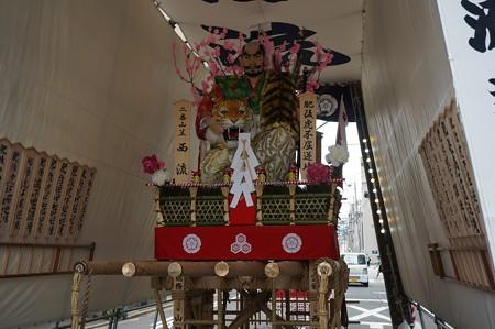 博多祇園山笠 2017年 舁き山 西流 肥後虎不屈逆境 (9)