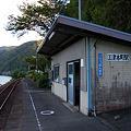 JR西日本・三江線、江津本町駅
