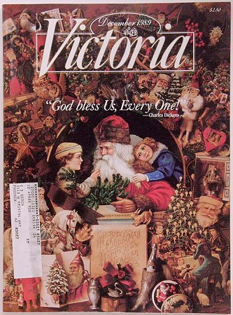 victoria magazine,1989年Dec.