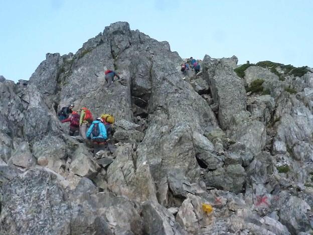 日本の山 剱岳を目指す!! 唐松岳から五竜岳 (3)