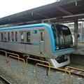 Photos: 東西線の15000系が4番線に。総武線各駅停車は5番線に入って来たから...