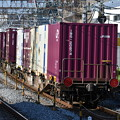 写真: コンテナ貨物列車
