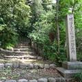 明治天皇鎌倉御野立所の石碑