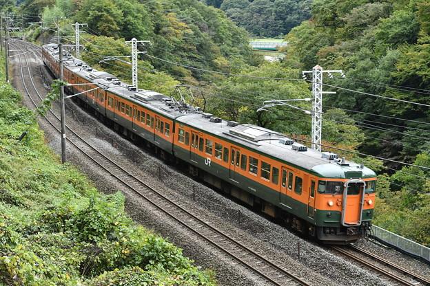 上越線 普通列車 731M (115系)