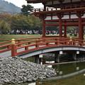 平等院鳳凰堂への橋
