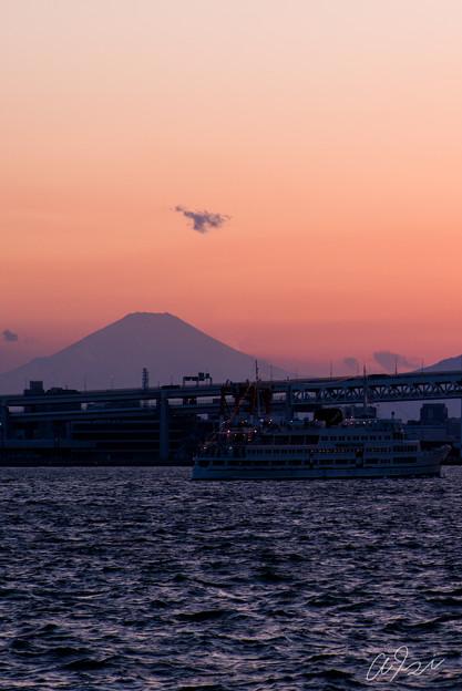 ロイヤルウィングと富士