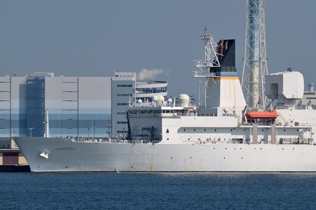 Photos: アメリカ海軍新型ミサイル追跡艦-2