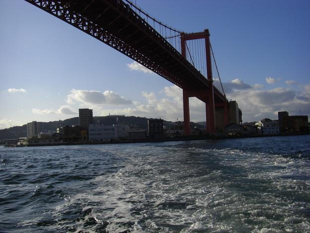 写真: 渡船でぐる~と